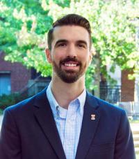 Professional Portrait Photo of Gregory Frech, Graduate Assistant for Career Planning and Campus Outreach