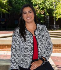 Professional Portrait Photo of Monica Towner, Assistant Director for Campus Recruiting and Job/Internship Preparation