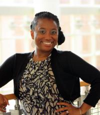 Professional Portrait Photo of Sparkle Sanders, Assistant Director of Marketing, Communications & Event Planning