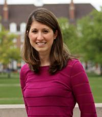 Professional Portrait Photo of Tori Spring, Assistant Director for Experiential Learning